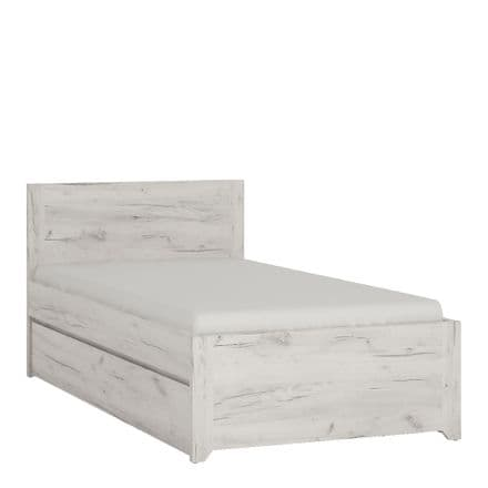 Angel Single Bed with underbed Drawer (Inc Slats)